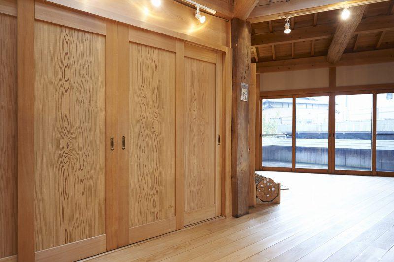 木材屋さんのショールーム