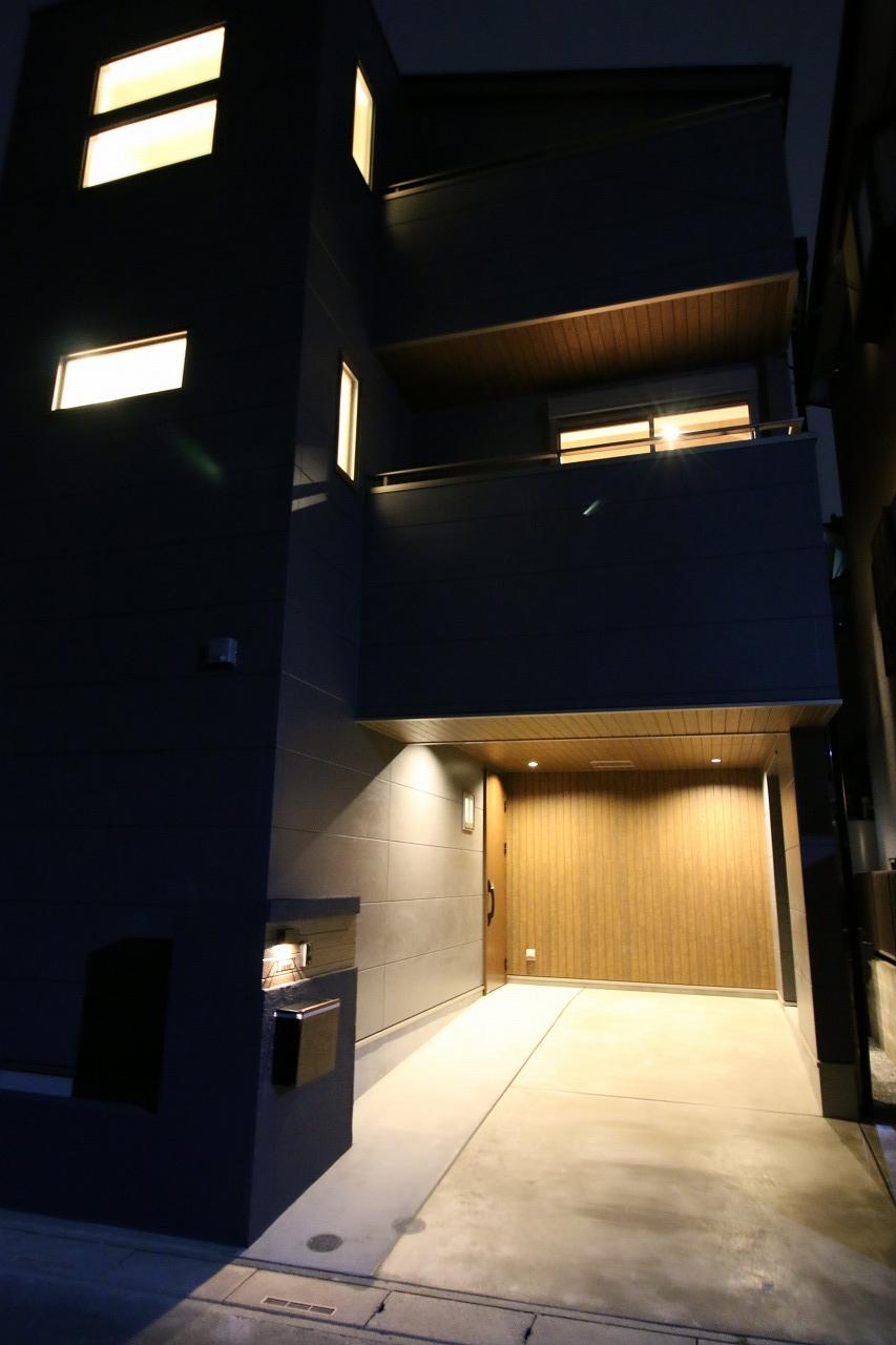 防音室のあるデザイン住宅 川口市